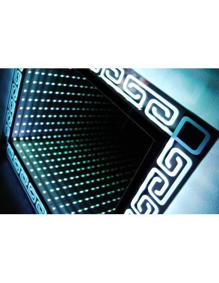 Lustro LED 3D (140x90) + grawer