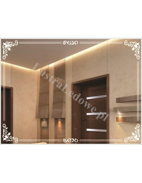 Lustro łazienkowe podświetlane