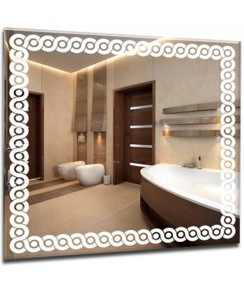 Nowoczesne lustro do łazienki, makijażu + extra SLIM