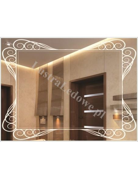 Produkcja luster łazienkowych podświetlanych