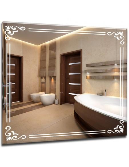 Lustra łazienkowe podświetlane do salonu, łazienki, garderoby