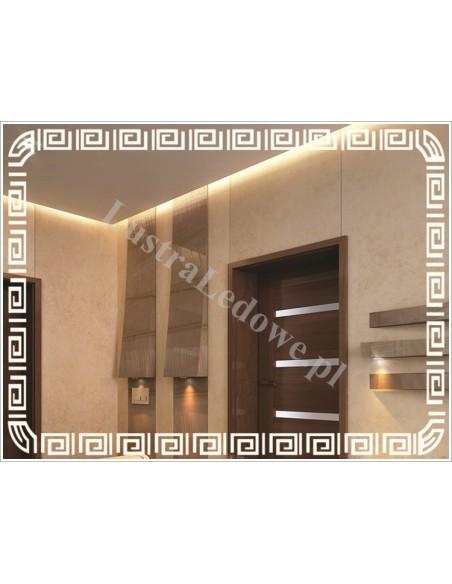 Lustra łazienkowe na wymiar z oświetleniem diodowym LED