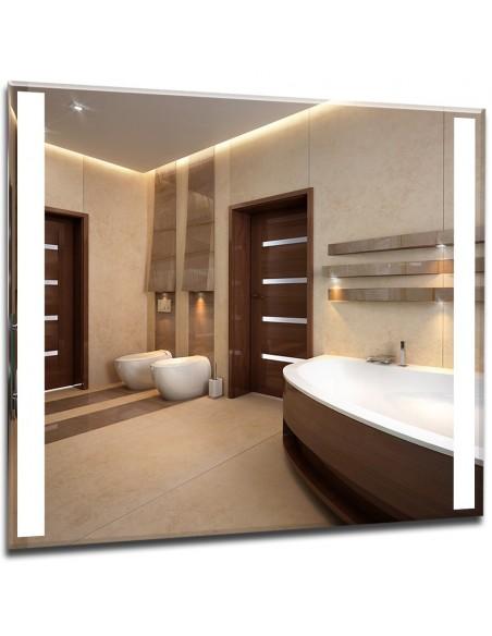 Lustra łazienkowe z podświetlanym pasem LED