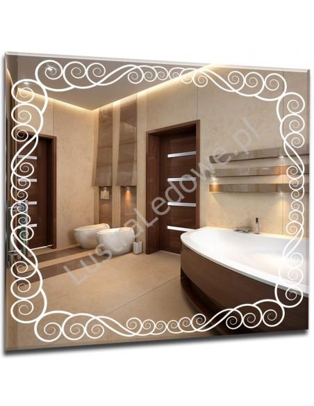 Lustra łazienkowe do łazienki z oświetleniem LED na wymiar