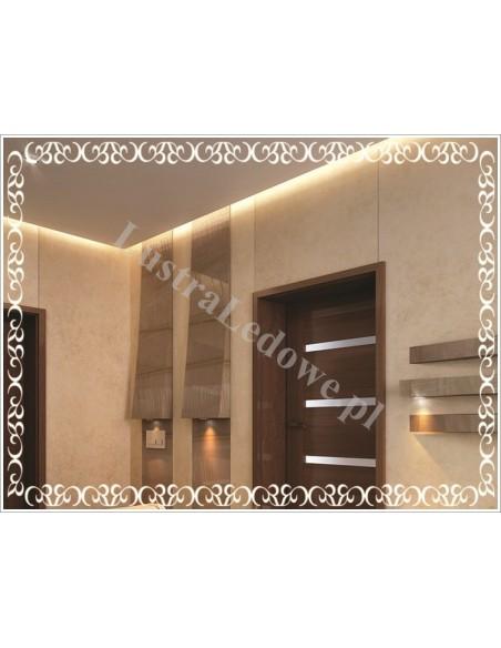 Producent luster podświetlanych do łazienki z oświetleniem LED
