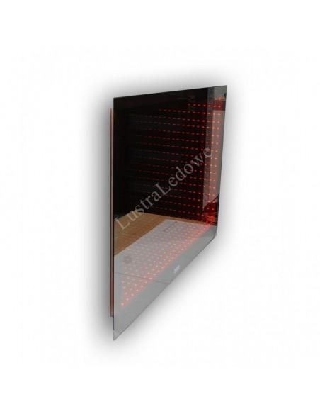 Lustro podświetlane na wymiar do łazienki