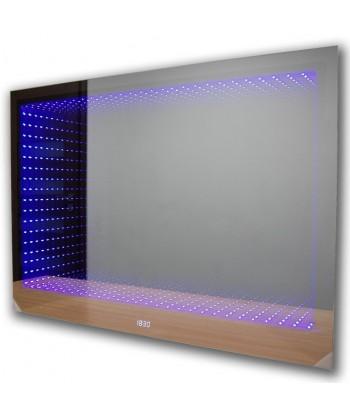 Lustro łazienkowe LED 3D (140x80) + efekt głębi