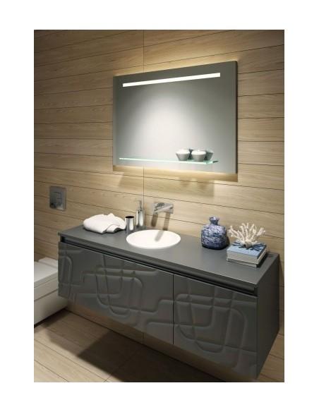 Lustro łazienkowe led 100x70